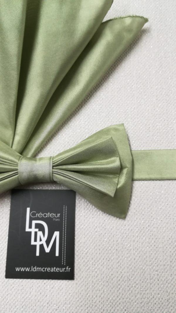 Noeud-papillon-vertAvignon-pochette-soie-homme-creation-mariage-200x187-LDM-Createur-fr