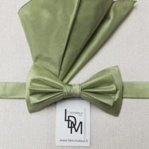 noeud-papillon-vert-d-eau-Avignon-mariage-soie-pochette-200x189-LDM-Createur-fr
