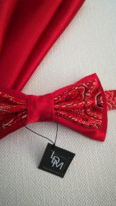 noeud-papillon-rouge-Olivet-satin-brocart-mariage-soirée-smoking-200x365-LDM-Createur-fr-