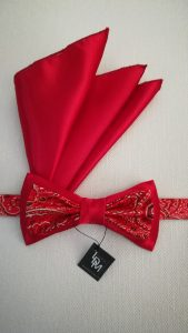 noeud-papillon-rouge-Olivet-satin-brocart-mariage-soiree-smoking-200x367-LDM-Createur-fr-