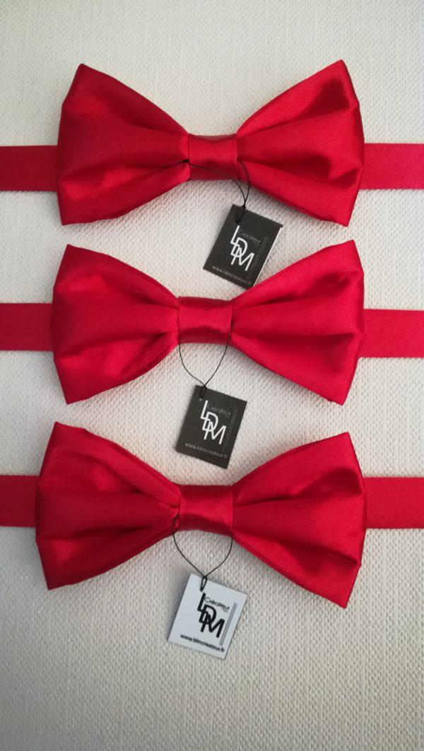 lot-de-noeud-papillon-rouge-Dunois-satin-mariage-soirée-récéption-elegant-201x195-LDM-Createur-fr
