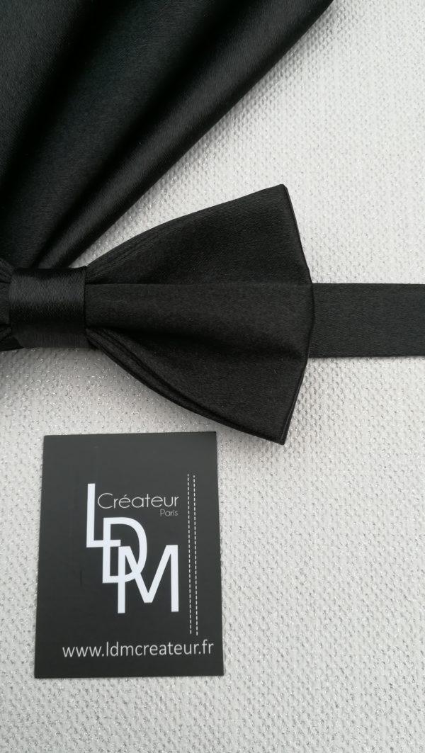 paris-noeud-papillon-noir-mariage-soiree-satin-pochette-201x218-LDM-Createur-fr