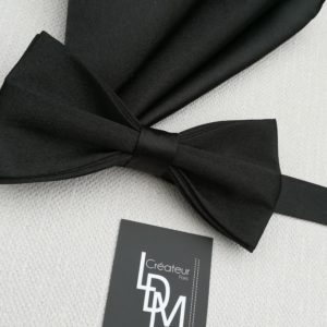 Noeud-papillon-noir-Paris-mariage-soiree-ceremonie-satin-pochette-201x219-LDM-Createur-fr