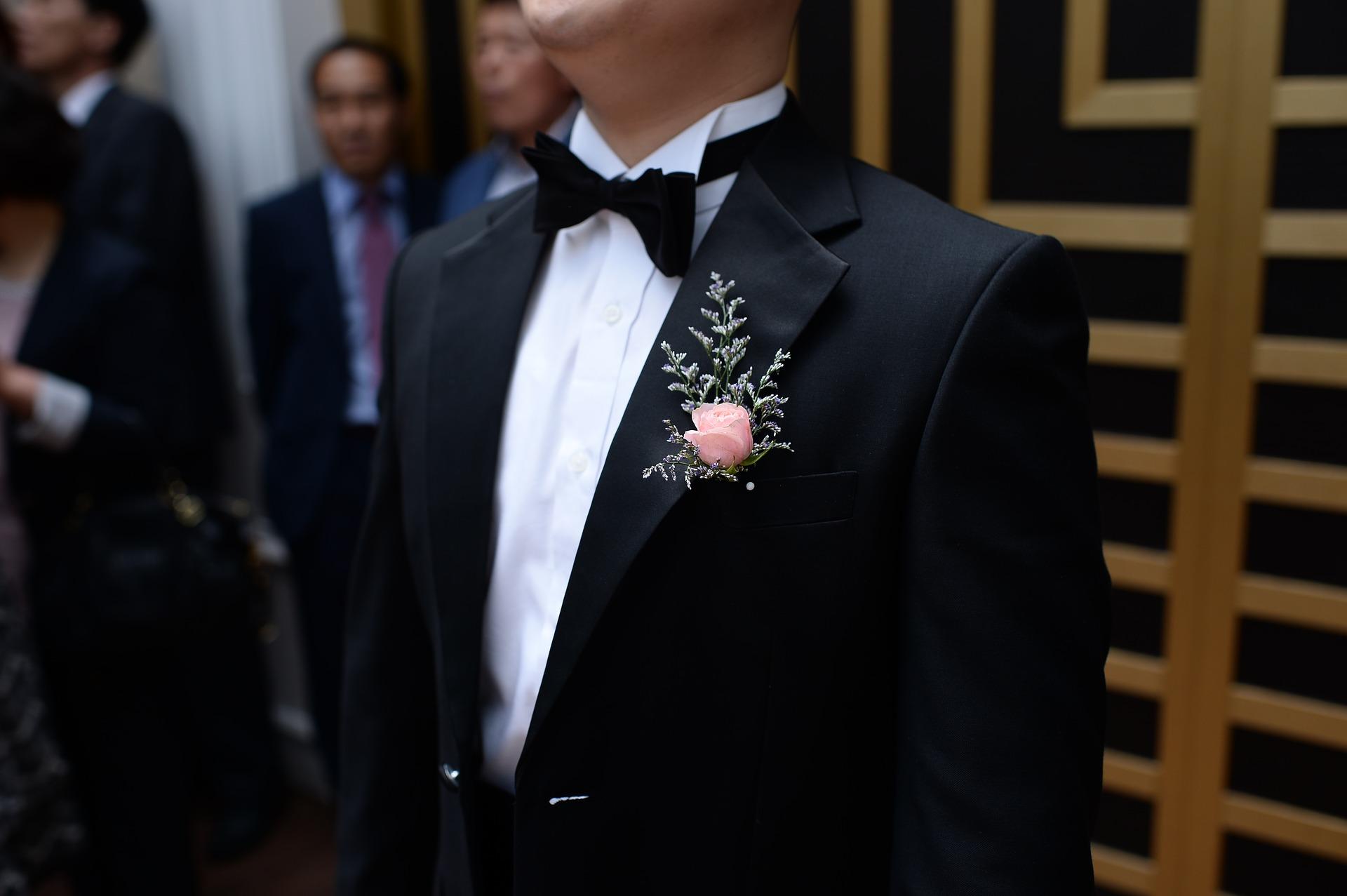 noeud-papillon-noir-smoking-costume-chemise-col-casse-LDM-Createur-fr