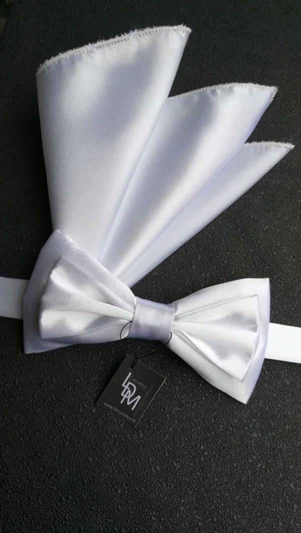 Noeud-papillon-blanc-pochette-mariage-Moscou-201x210-LDM-Créateur-fr