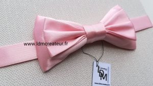 Noeud-papillon-mariage-rose-Toulouse-artisan-creation-ldmcreateur-fr