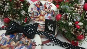 noeud-papillon-noir-pois-noel-vert-blanc-rouge-marche-Villemomble-www-ldmcreateur-fr
