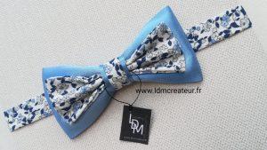 Noeud-papillon-ceremonie-bleu-ciel-mariage-bleu-ciel-blanc-homme-accessoires-www-ldmcreateur-fr