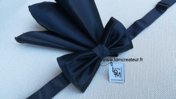 Noeud-papillon-bleu-marine-mariage-original-createur-pochette-original-Vienne-www-ldmcreateur-fr