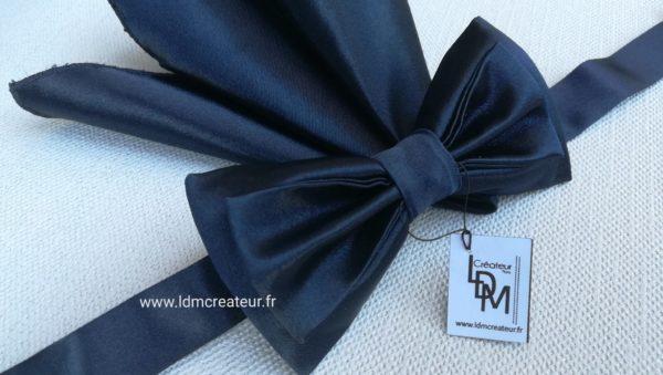 Noeud-papillon-bleu-marine-marie-mariage-accessoire-homme-Vienne-www-ldmcreateur-fr