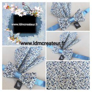 Noeud-papillon-liberty-bleu-ciel-Barfleur-ceremonie-www-ldmcreateur-fr