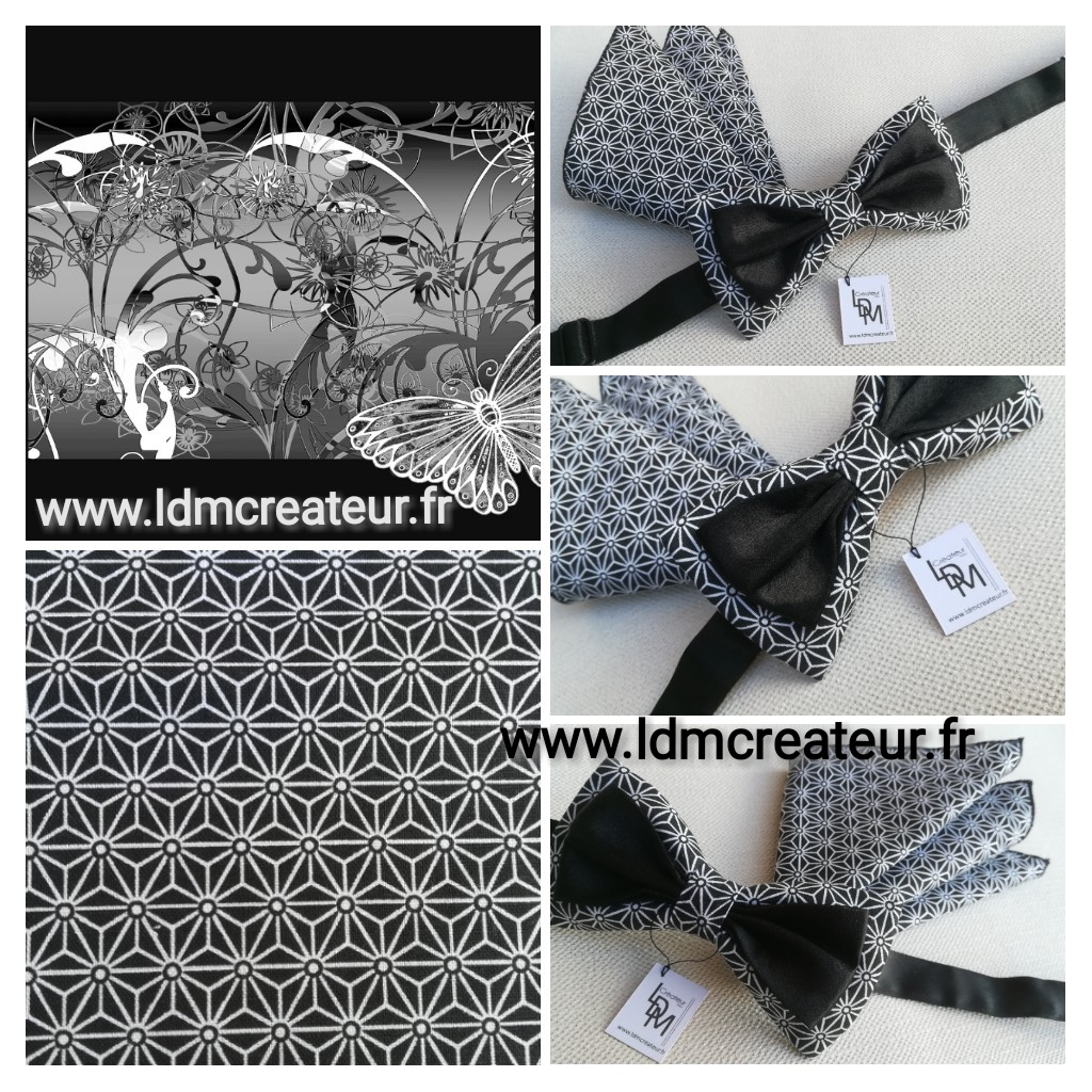Noeud-papillon-noir-Montbrison-www-ldmcreateur-fr