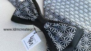Noeud-papillon-noir-blanc-Dieppe-www-ldmcreateur-fr