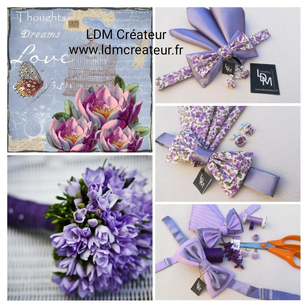 Noeud-papillon-parme-lilas-mauve-boheme-chic-champetre-www-ldmcreateur-fr