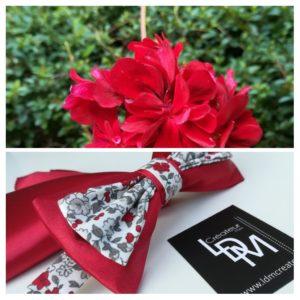 Noeud-papillon-rouge-champetre-Sospel-www-ldmcreateur-fr