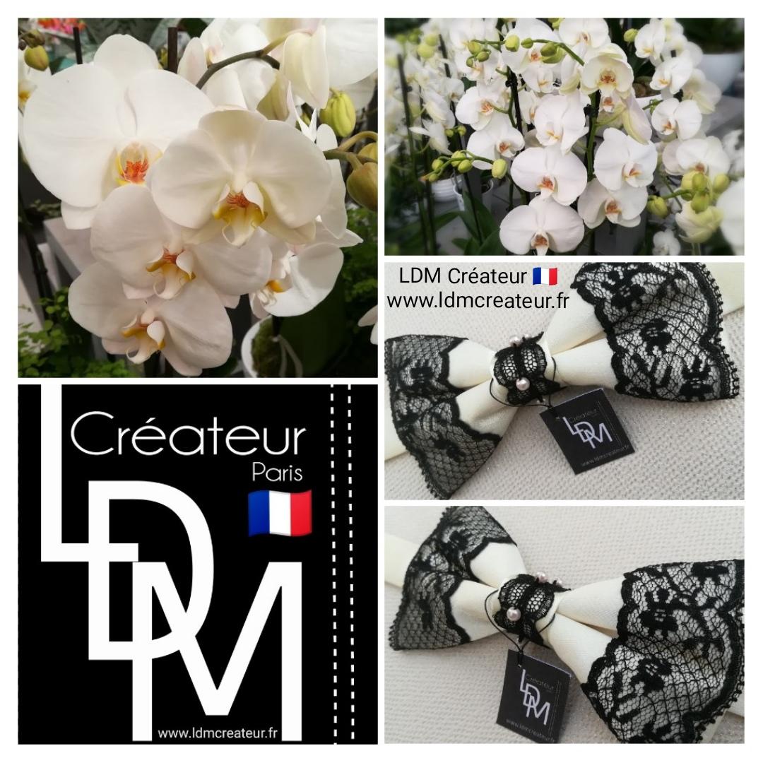 Noeud-papillon-ivoire-femme-mariage-dentelle-perles-ldmcreateur