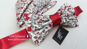 noeud-papillon-liberty-rouge-pochette-mariage-Montsereau-ldmcreateur