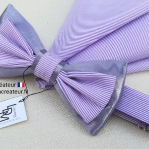 noeud-papillon-parme-rayure-mariage-boheme-elegance-Sete-ldmcreateur