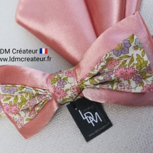 noeud-papillon-vieux-rose-liberty-champetre-mariage-Passy-ldmcreateur