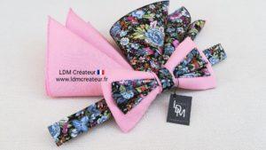 Nœud-papillon-rose-mariage-champêtre-Lannion-LDM-Createur-ldmcreateur