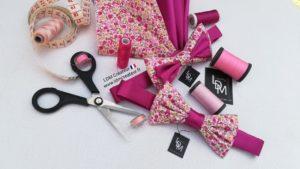 nœud-papillon-mariage-ceremonie-rose-poudre-blanc-ldmcreateur