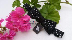 Noeud-papillon-enfant-garçon-bebe-noir-pois-blanc-mariage-ceremonie-Julien-ldmcreateur-LDM-Createur-ldmcreateur