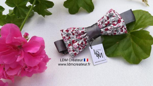 noeud-papillon-enfant-garçon-ado-gris-rose-rouge-mariage-champetre-original-liberty-Jean-LDM-Createur-ldmcreateur