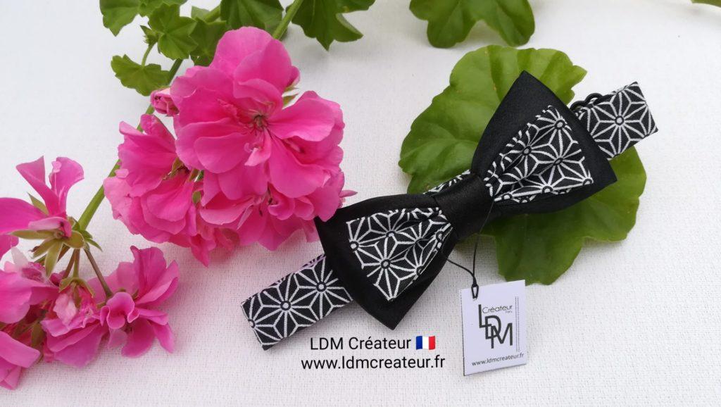 nœud-papillon-enfant-noir-garçon-ado-mariage-original-chic-Pierre-LDM-Createur-ldmcreateur