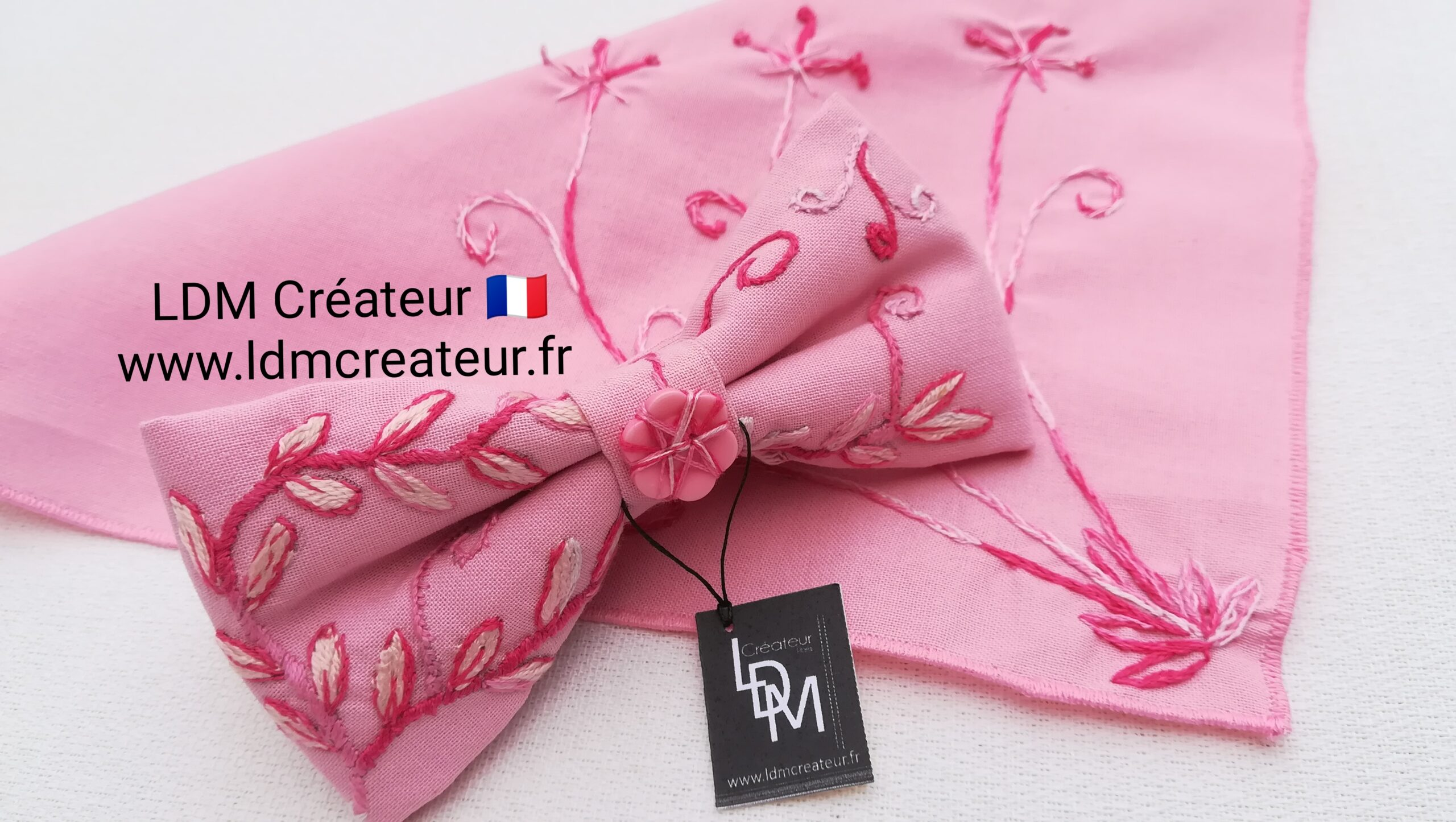 noeud-pap-papillon-rose-blanc-brode-mariage-homme-costume-original-ldmcreateur-Gignac