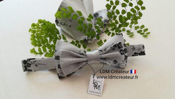 Noeud-papillon-gris-perle-blanc-mariage-homme-ceremonie-champetre-Loisy-ldmcreateur