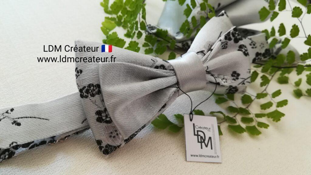 Noeud-papillon-perle-gris-blanc-marie-mariage-style-chic-boheme-Loisy-ldmcreateur